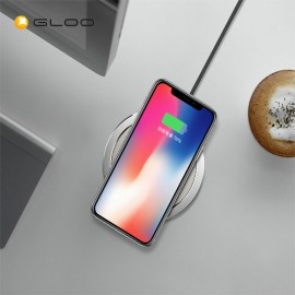 Rock Space W1 PRO Quick Wireless Charger- Silver
