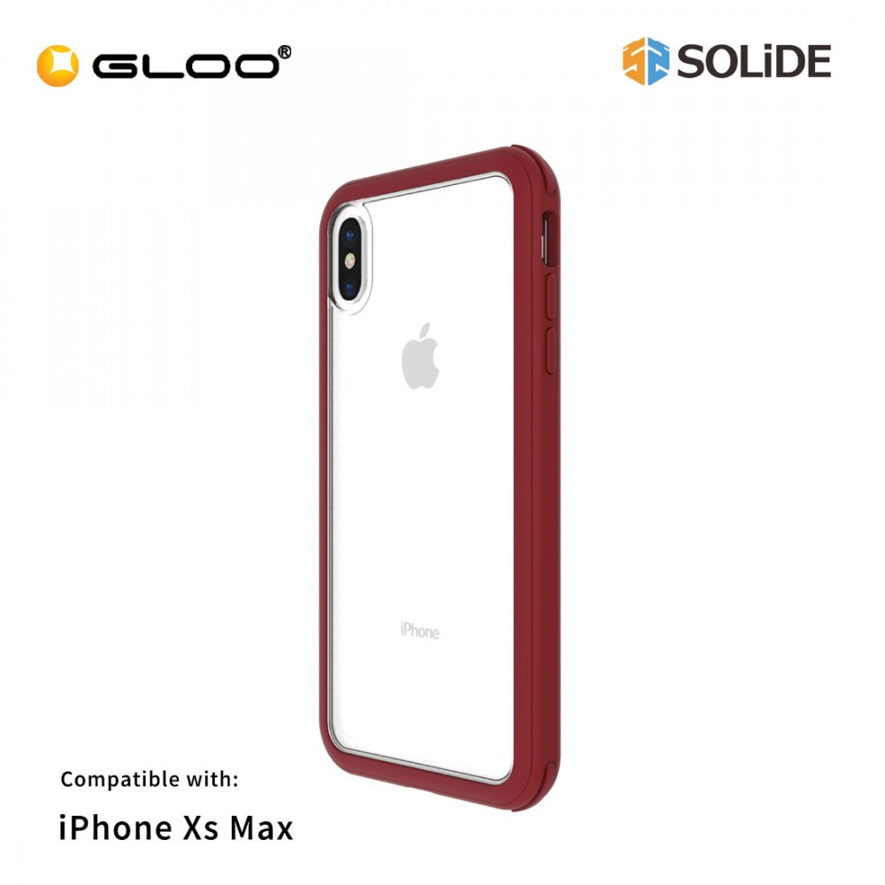 Solide iPhone XS Max Venus AXBU3M Red