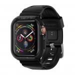 Spigen Apple Watch Series 4 Band 44mm - Rugged Armor Pro Black