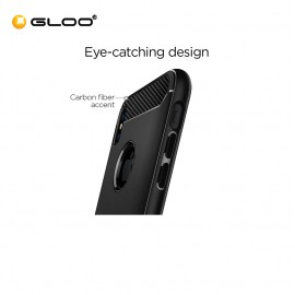 Spigen iPhone X Rugged Armor Matte Black 8809565300226
