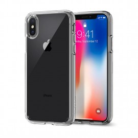 Spigen iPhone X Ultra Hybrid Rose Crystal