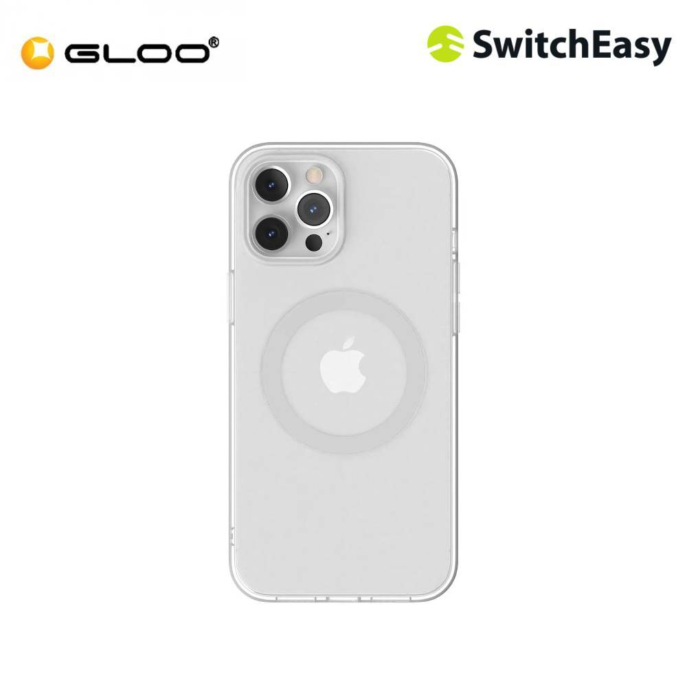 """SwitchEasy MagClear iPhone 12 Pro Max 6.7"""" - Silver"""