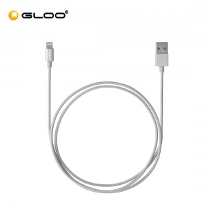 Targus ALU Series Lightning to USB Cable (1.2M) - Silver 092636315115