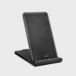 Uniq Vertex Foldable Fast Wireless Charger - Black 8886463664827