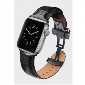Uniq Caro Apple Watch 44mm/42mm band - Black 8886463667774