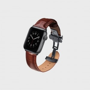 Uniq Caro Apple Watch 44mm/42mm band - Brown 8886463667781