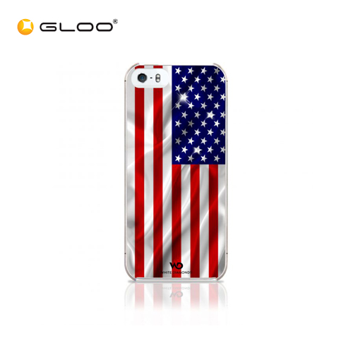 White Diamonds iPhone 5/5S Flag USA 4260237631514