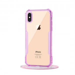 XUNDD iPhone XS MAX 6.5 Beetle Clear Purple