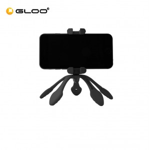 Zbam Gekkopod Full Mobile Pack (without Bluetooth remote shutter & Action camera Adapter) - Black