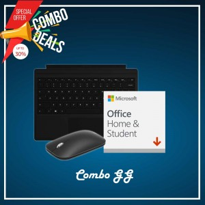 [COMBO GG] Surface Go Type Cover Black + H&S (ESD) + Mobile Mouse Bluetooth Black