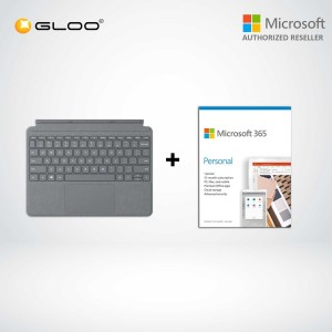 Microsoft Surface Go Type Cover LT Charcoal- KCS-00140  + 365 Personal (ESD)