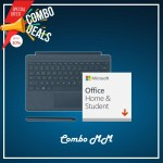 [COMBO MM] Surface Go Type Cover Teal + Office 365 Home & Student (ESD) + Surface Pen Cobalt Blue