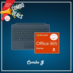 [COMBO G] Surface Go Type Cover Teal + Office 365 Home (ESD)