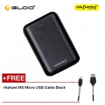 Nafumi B180 10000Mah Power Bank Black Free Nafumi M5 Micro USB Cable Black