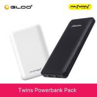[Buy 2 @ RM 91] Nafumi B180 White + B100 Black 10000mAh Powerbank