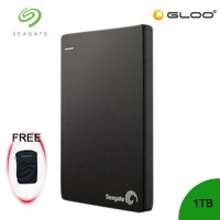 Seagate Backup Plus Portable Drive 1TB - Black STDR1000300 FREE Hard Pouch Casing