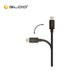 Amazingthing Supremelink Lightning AMF001MBK Cable (1M) - Black