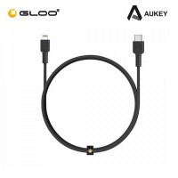 AUKEY MFi Braided USB C to Lightning Fast Charging Cable 5V/9V/15V - 1.2M CB-CL1 608119197293