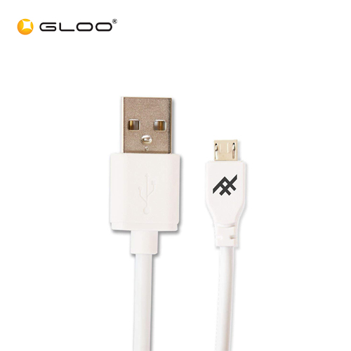 Ifrogz USB A - Micro USB Cable White 3m 848467060195