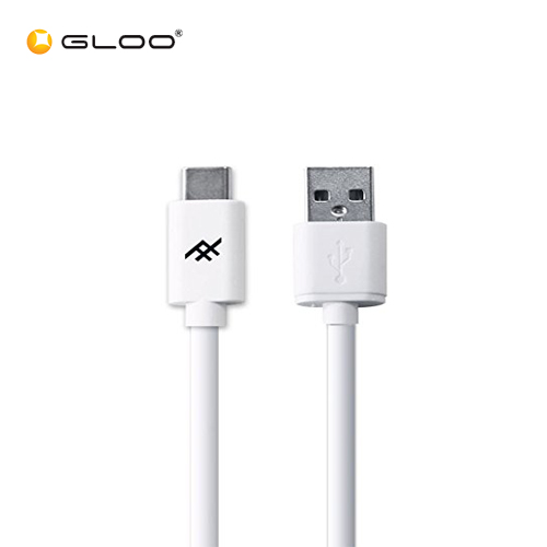 Ifrogz USB A - USB C Cable White 1.8m 848467060232