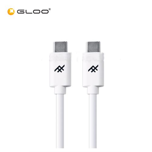 Ifrogz USB C - USB C Cable White 1.8m 848467060270