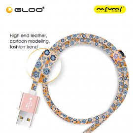 Nafumi K1 Micro USB Cable Orange