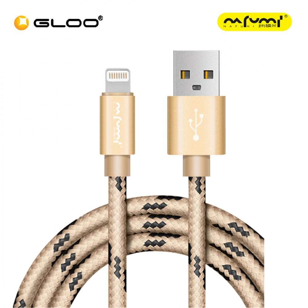 Nafumi X2 Lightning Cable Gold