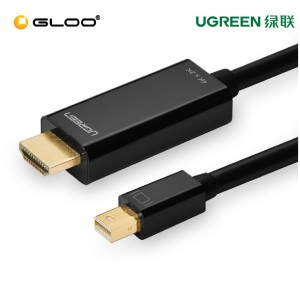 UGREEN mini dp male to hdmi cable black/1.5M-20848