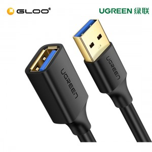 UGREEN USB 3.0 Extension Male Cable 2m (Black)-10373