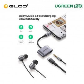 UGREEN USB-C to 3.5mm Audio Adapter with PD - 60164
