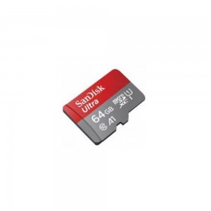 Sandisk Ultra 64GB 98R/10W A1 MicroSDXC Card-no adapter (SDSQUAR-064G-GN6MN)
