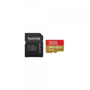 Sandisk Micro SD Extreme 128 GB + Adapter - A2 SDSQXA1-128G-GN6AA