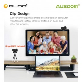 AUSDOM AW635 1080P Streaming WebCamera Manual Focus support OBS