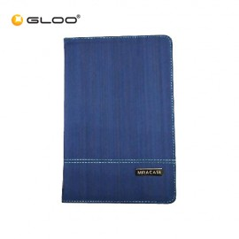 """Miracase 7""""-8"""" Tablets Ultra-thin Universal Booklet Case for JOI 8-Blue"""
