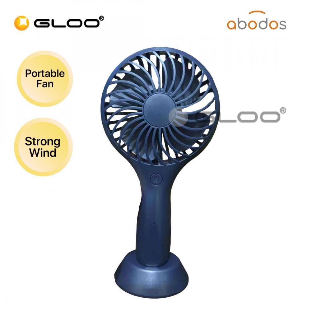 Abodos AS-HF9 Handheld Fan Dark Blue