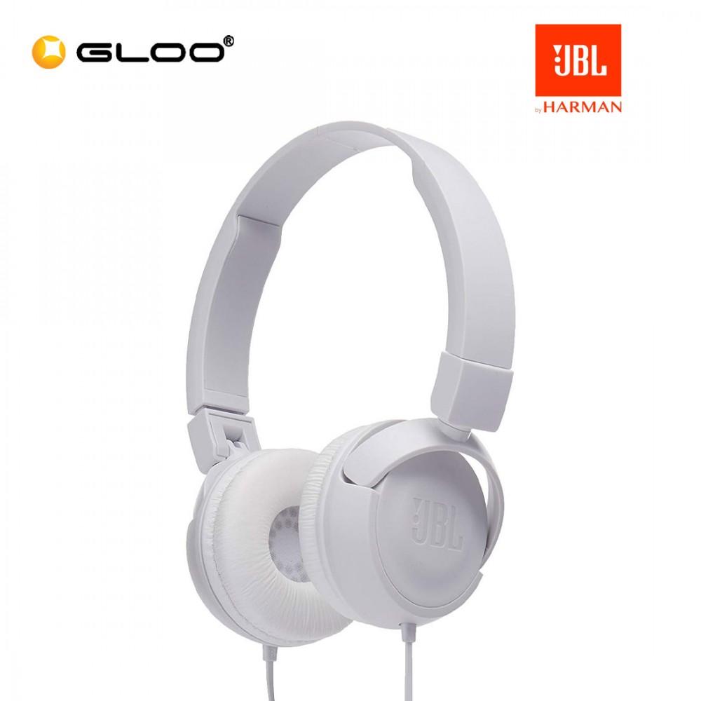 JBL T450BT On-Ear Headphones White 050036335638