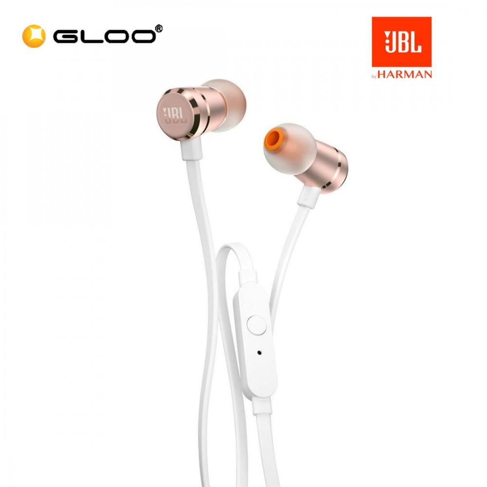 JBL T290 IN-EAR Headphones Rosegold-050036337236