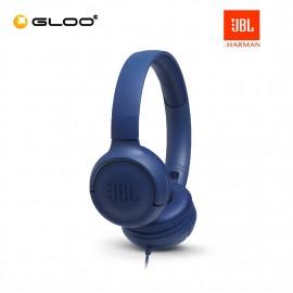 JBL T500 On-Ear Headphones Blue