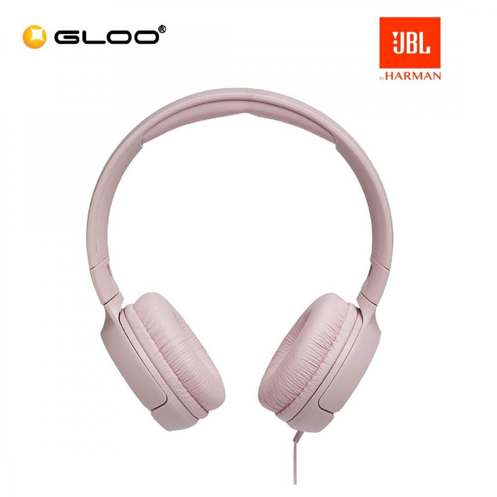 JBL T500 On-Ear Headphones Pink