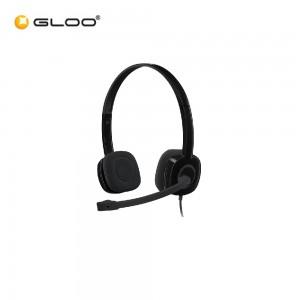 Logitech Stereo Headset H151 - Black 981-000587
