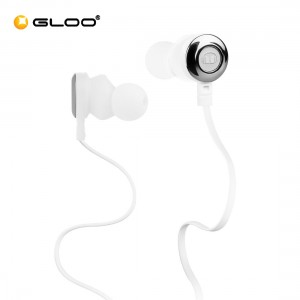 Monster Clarity HD High Definition In-Ear Headphones - White