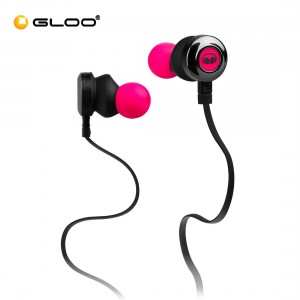 Monster Clarity HD High Definition In-Ear Headphones - Pink