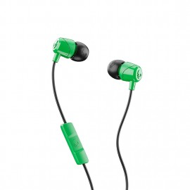 Skullcandy Jib In-Ear W/ Mic Green/Black/Green