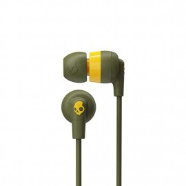 Skullcandy Inkd+In-Ear with Microphone 1 Moss/Olive/Yellow 878615097544