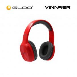 Vinnfier Elite 1 Bluetooth Headset -Blk/Red