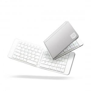CASESTUDI Foldboard: Foldable Keyboard - Grey 4897071253826