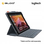 LOGITECH SLIM FOLIO with Integrated Bluetooth Keyboard for iPad (5th and 6th gen) 097855143198