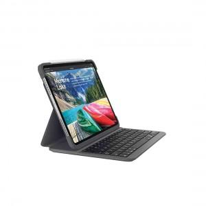 """Logitech SLIM FOLIO PRO for iPad Pro 12.9"""" (3rd & 4th Gen) - Graphite"""