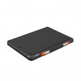Logitech Slim Folio for iPad (7th Generation) with Logitech Crayon (Bundle)