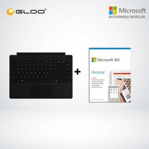 Microsoft Surface Pro Type Cover Black FMM-00015 + 365 Personal (ESD)